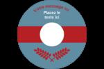 Feuillage rouge et gris Étiquettes de classement - gabarit prédéfini. <br/>Utilisez notre logiciel Avery Design & Print Online pour personnaliser facilement la conception.