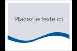 Vague bleue  Étiquettes d'expéditions - gabarit prédéfini. <br/>Utilisez notre logiciel Avery Design & Print Online pour personnaliser facilement la conception.