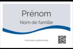 Vague bleue  Badges - gabarit prédéfini. <br/>Utilisez notre logiciel Avery Design & Print Online pour personnaliser facilement la conception.