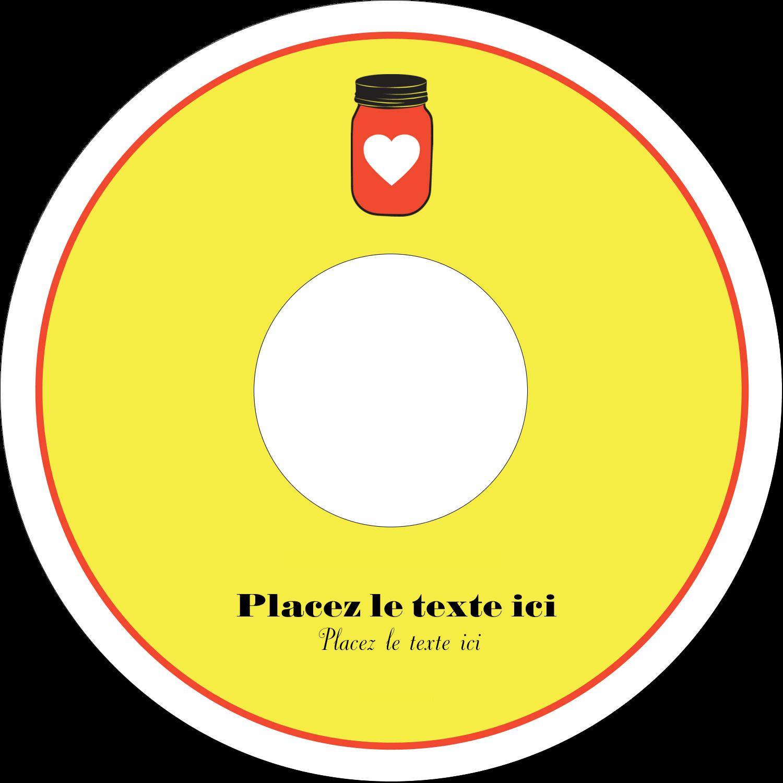 """⅔"""" x 3-7/16"""" Étiquettes de classement - Conserves"""