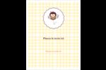 Abeille occupée Reliures - gabarit prédéfini. <br/>Utilisez notre logiciel Avery Design & Print Online pour personnaliser facilement la conception.