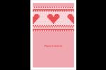 Saint-Valentin en point de croix Reliures - gabarit prédéfini. <br/>Utilisez notre logiciel Avery Design & Print Online pour personnaliser facilement la conception.