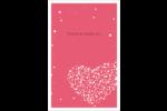 Amas en cœur Reliures - gabarit prédéfini. <br/>Utilisez notre logiciel Avery Design & Print Online pour personnaliser facilement la conception.