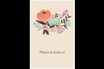 Jardin exotique Cartes Et Articles D'Artisanat Imprimables - gabarit prédéfini. <br/>Utilisez notre logiciel Avery Design & Print Online pour personnaliser facilement la conception.