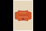 Ruche violette Reliures - gabarit prédéfini. <br/>Utilisez notre logiciel Avery Design & Print Online pour personnaliser facilement la conception.
