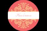 Élégance et mariage Étiquettes Voyantes - gabarit prédéfini. <br/>Utilisez notre logiciel Avery Design & Print Online pour personnaliser facilement la conception.