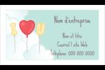 Ballon d'amour de Saint-Valentin Cartes Pour Le Bureau - gabarit prédéfini. <br/>Utilisez notre logiciel Avery Design & Print Online pour personnaliser facilement la conception.
