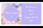 Arrangement floral Cartes Pour Le Bureau - gabarit prédéfini. <br/>Utilisez notre logiciel Avery Design & Print Online pour personnaliser facilement la conception.