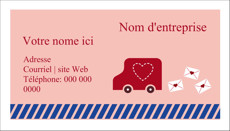 """3"""" x 5"""" Cartes Pour Le Bureau - Saint-Valentin par la poste"""