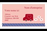 Saint-Valentin par la poste Cartes Pour Le Bureau - gabarit prédéfini. <br/>Utilisez notre logiciel Avery Design & Print Online pour personnaliser facilement la conception.