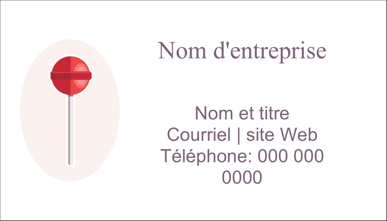 """3"""" x 5"""" Cartes Pour Le Bureau - Sucette de Saint-Valentin"""