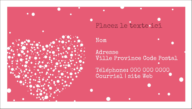 """3"""" x 5"""" Cartes Pour Le Bureau - Amas en cœur"""