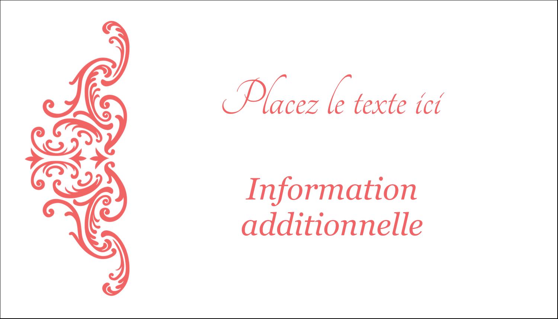 """3"""" x 5"""" Cartes Pour Le Bureau - Élégance et mariage"""