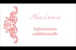 Élégance et mariage Cartes Pour Le Bureau - gabarit prédéfini. <br/>Utilisez notre logiciel Avery Design & Print Online pour personnaliser facilement la conception.