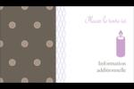 Gros points bruns Carte d'affaire - gabarit prédéfini. <br/>Utilisez notre logiciel Avery Design & Print Online pour personnaliser facilement la conception.