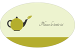 Théière Étiquettes carrées - gabarit prédéfini. <br/>Utilisez notre logiciel Avery Design & Print Online pour personnaliser facilement la conception.