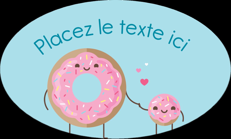 """1½"""" x 1½"""" Étiquettes carrées - Bec sucré"""