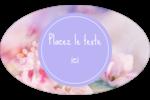 Arrangement floral Étiquettes carrées - gabarit prédéfini. <br/>Utilisez notre logiciel Avery Design & Print Online pour personnaliser facilement la conception.