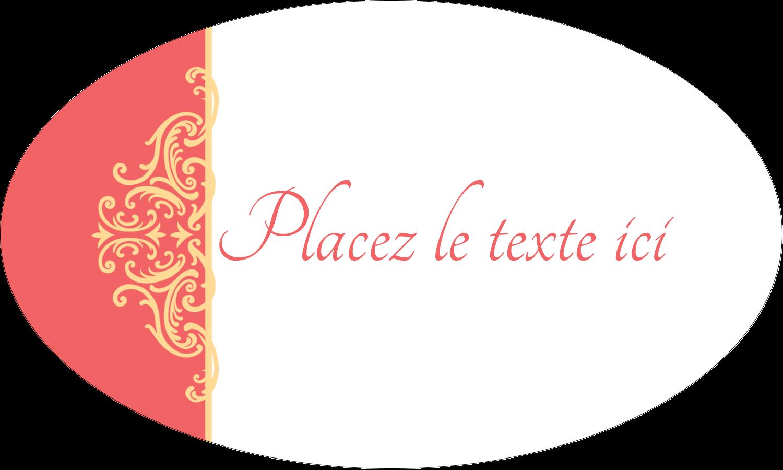 """1½"""" x 1½"""" Étiquettes carrées - Élégance et mariage"""