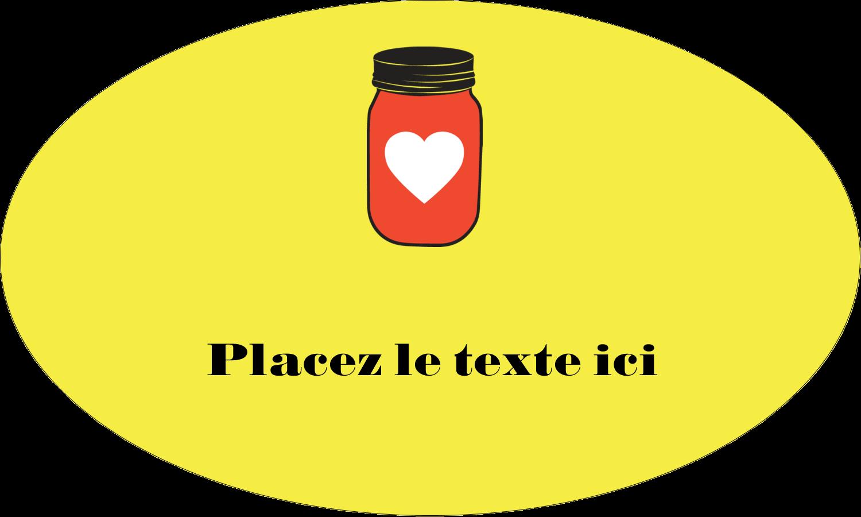 """1½"""" x 1½"""" Étiquettes carrées - Conserves"""