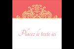 Élégance et mariage Étiquettes carrées - gabarit prédéfini. <br/>Utilisez notre logiciel Avery Design & Print Online pour personnaliser facilement la conception.