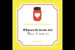 Conserves Étiquettes carrées - gabarit prédéfini. <br/>Utilisez notre logiciel Avery Design & Print Online pour personnaliser facilement la conception.