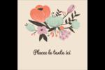 Jardin exotique Étiquettes carrées - gabarit prédéfini. <br/>Utilisez notre logiciel Avery Design & Print Online pour personnaliser facilement la conception.