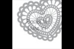 Saint-Valentin au crochet Étiquettes enveloppantes - gabarit prédéfini. <br/>Utilisez notre logiciel Avery Design & Print Online pour personnaliser facilement la conception.