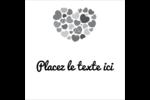 Courtepointe en cœur Étiquettes enveloppantes - gabarit prédéfini. <br/>Utilisez notre logiciel Avery Design & Print Online pour personnaliser facilement la conception.