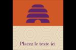 Ruche violette Étiquettes enveloppantes - gabarit prédéfini. <br/>Utilisez notre logiciel Avery Design & Print Online pour personnaliser facilement la conception.