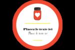 Conserves Étiquettes arrondies - gabarit prédéfini. <br/>Utilisez notre logiciel Avery Design & Print Online pour personnaliser facilement la conception.