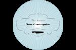 Charcuterie Étiquettes arrondies - gabarit prédéfini. <br/>Utilisez notre logiciel Avery Design & Print Online pour personnaliser facilement la conception.