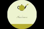 Théière Étiquettes de classement - gabarit prédéfini. <br/>Utilisez notre logiciel Avery Design & Print Online pour personnaliser facilement la conception.