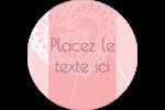 Saint-Valentin au crochet Étiquettes de classement - gabarit prédéfini. <br/>Utilisez notre logiciel Avery Design & Print Online pour personnaliser facilement la conception.
