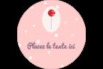 Sucette de Saint-Valentin Étiquettes de classement - gabarit prédéfini. <br/>Utilisez notre logiciel Avery Design & Print Online pour personnaliser facilement la conception.