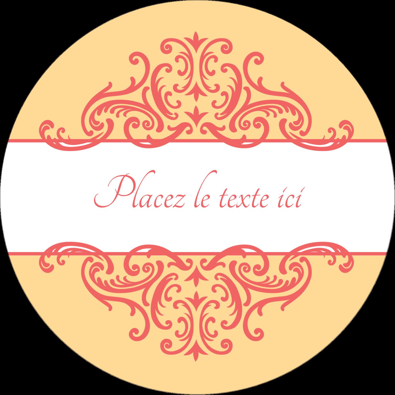 """3-7/16"""" x 15/16"""" Étiquettes de classement - Élégance et mariage"""
