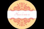 Élégance et mariage Étiquettes de classement - gabarit prédéfini. <br/>Utilisez notre logiciel Avery Design & Print Online pour personnaliser facilement la conception.