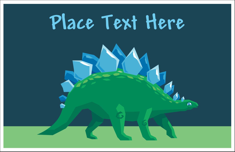 "5½"" x 8½"" Greeting Card - Dinosaur"