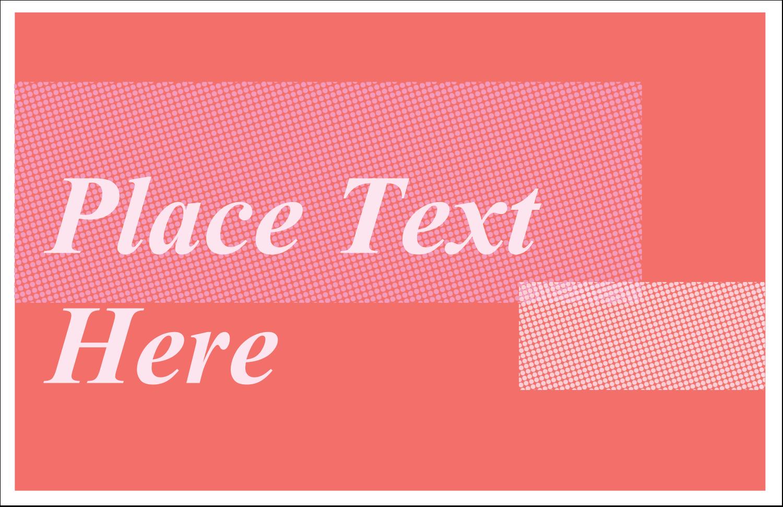"5½"" x 8½"" Greeting Card - Pink Treatment"
