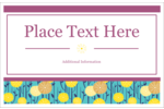 Add a touch of springtime to your projects with pre-designed Dandelion Print templates.