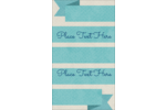 Personalize your projects with pre-designed Turquoise Ribbon templates.