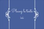 Calque élégant Étiquettes rectangulaires - gabarit prédéfini. <br/>Utilisez notre logiciel Avery Design & Print Online pour personnaliser facilement la conception.