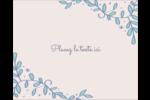 Réservez la date bleu Étiquettes rondes gaufrées - gabarit prédéfini. <br/>Utilisez notre logiciel Avery Design & Print Online pour personnaliser facilement la conception.