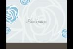 Roses bleues officielles Étiquettes rondes gaufrées - gabarit prédéfini. <br/>Utilisez notre logiciel Avery Design & Print Online pour personnaliser facilement la conception.