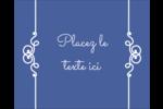 Calque élégant Étiquettes rondes gaufrées - gabarit prédéfini. <br/>Utilisez notre logiciel Avery Design & Print Online pour personnaliser facilement la conception.