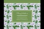Savon fleurs vertes Étiquettes rondes gaufrées - gabarit prédéfini. <br/>Utilisez notre logiciel Avery Design & Print Online pour personnaliser facilement la conception.