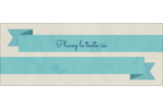 Ruban turquoise Affichette - gabarit prédéfini. <br/>Utilisez notre logiciel Avery Design & Print Online pour personnaliser facilement la conception.
