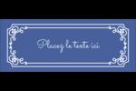 Calque élégant Affichette - gabarit prédéfini. <br/>Utilisez notre logiciel Avery Design & Print Online pour personnaliser facilement la conception.