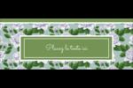 Savon fleurs vertes Affichette - gabarit prédéfini. <br/>Utilisez notre logiciel Avery Design & Print Online pour personnaliser facilement la conception.