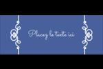 Calque élégant Étiquettes D'Adresse - gabarit prédéfini. <br/>Utilisez notre logiciel Avery Design & Print Online pour personnaliser facilement la conception.